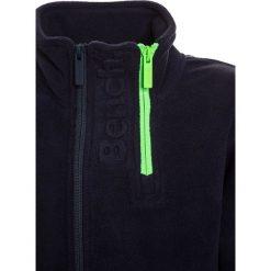 Bench FUNNEL  Kurtka z polaru dark navy blue. Niebieskie kurtki chłopięce przeciwdeszczowe Bench, z materiału. W wyprzedaży za 188,10 zł.