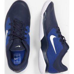Nike Performance AIR ZOOM ULTRA Obuwie do tenisa Outdoor midnight navy/metallic silver/racer blue/white. Niebieskie buty do tenisa męskie Nike Performance, z gumy. W wyprzedaży za 293,30 zł.