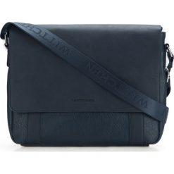 Torba na laptopa 87-4P-501-N. Niebieskie torby na laptopa Wittchen, w paski. Za 359,00 zł.