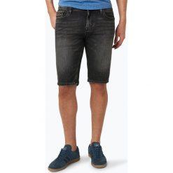 Calvin Klein Jeans - Męskie bermudy jeansowe, czarny. Czarne bermudy męskie marki Calvin Klein Jeans, z bawełny. Za 349,95 zł.