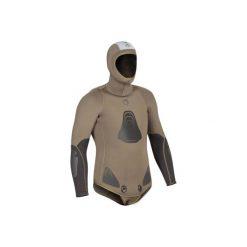 Kurtka do kombinezonu do łowiectwa podwodnego i freedivingu SPF 100 7 mm. Brązowe kurtki męskie marki LIGNE VERNEY CARRON, m, z bawełny. Za 499,99 zł.