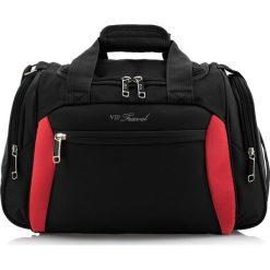 Torba na ramię V25-3S-236-13. Czarne torby na ramię męskie Wittchen, w paski, z poliesteru, duże. Za 125,00 zł.
