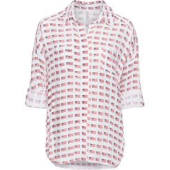 Bluzki asymetryczne: Bluzka bonprix biały - flaga