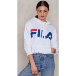 Bluzy damskie: FILA Bluza z kapturem Classic Logo - White