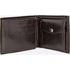Solier - Portfel skórzany. Czarne portfele męskie Solier, z materiału. W wyprzedaży za 79,90 zł.