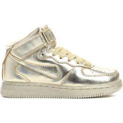 Złote Buty Sportowe Easy Going. Żółte buty sportowe chłopięce Born2be, z materiału, z okrągłym noskiem, na sznurówki. Za 49,99 zł.