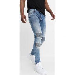 Glorious Gangsta CHARA Jeans Skinny Fit blue denim. Niebieskie rurki męskie Glorious Gangsta. Za 239,00 zł.