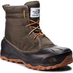 Śniegowce THE NORTH FACE - Tsumoru Boot T93MKS5UA Tarmac Green/Tnf Black. Zielone śniegowce męskie marki The North Face, z materiału. W wyprzedaży za 369,00 zł.
