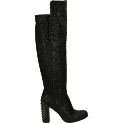 Kozaki - 799301 NERO. Czarne buty zimowe damskie marki Venezia, ze skóry. Za 639,00 zł.