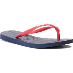 Klapki damskie: Japonki HAVAIANAS - Sl Logo Pop-Up 41197875603 Navy/Red Ruby