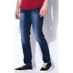 Jeansy męskie regular: Niebieskie Jeansy Freedom