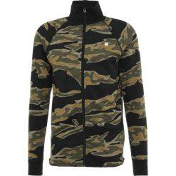 GStar JIRGI TIGER AO ZIP T L/S Bluza rozpinana sage/black. Zielone bejsbolówki męskie G-Star, l, z bawełny. Za 369,00 zł.