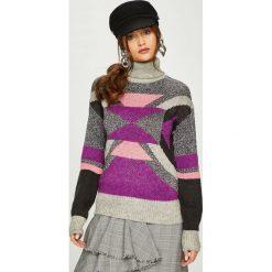Noisy May - Sweter Mea. Szare swetry klasyczne damskie Noisy May, l. W wyprzedaży za 139,90 zł.