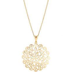 Łańcuszki męskie: RABAT Złoty Wisiorek – złoto żółte 585