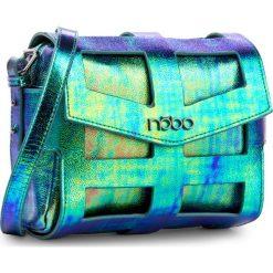 Torebka NOBO - NBAG-E4103-C008 Kolorowy. Niebieskie listonoszki damskie Nobo, w kolorowe wzory, ze skóry ekologicznej, na ramię. W wyprzedaży za 129,00 zł.