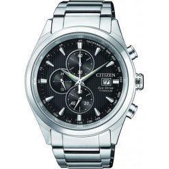 ZEGAREK CITIZEN Titanium CA0650-82F. Czarne zegarki męskie CITIZEN, ze stali. Za 1470,00 zł.