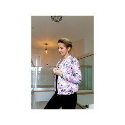 Bluza bomberka damska , bomberka na suwak z nadrukiem w czaszki i kwiaty. Szare bluzy z nadrukiem damskie marki ekoszale, xl, z dresówki. Za 170,00 zł.