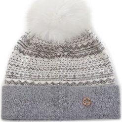 Czapka GRANADILLA - Evanescent JG5024 White 005. Białe czapki zimowe damskie Granadilla, z materiału. Za 309,00 zł.