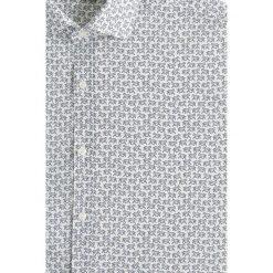 Mango Man - Koszula Aron. Szare koszule męskie na spinki Mango Man, l, z bawełny, z klasycznym kołnierzykiem, z długim rękawem. W wyprzedaży za 89,90 zł.