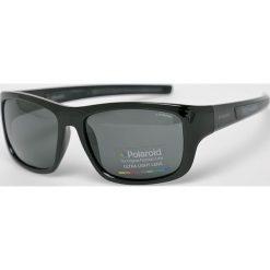 Polaroid - Okulary PLD3012S. Brązowe okulary przeciwsłoneczne męskie aviatory Polaroid, z materiału, prostokątne. Za 339,90 zł.
