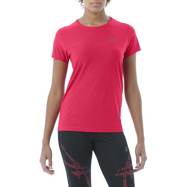 Asics Koszulka Asics SS TOP różowa r. XS (134104 0640)