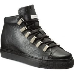Sneakersy EVA MINGE - Dorita 2F 17BD1372195EF 101. Czarne sneakersy damskie Eva Minge, z materiału. W wyprzedaży za 419,00 zł.