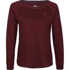 Koszulka w kolorze bordowym. Czerwone bluzki longsleeves Dreimaster, xs, z bawełny, z okrągłym kołnierzem. W wyprzedaży za 64,95 zł.