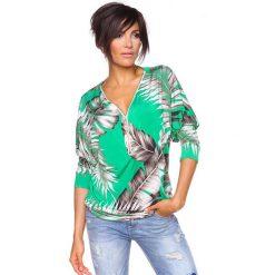 """T-shirty damskie: Koszulka """"Diane"""" w kolorze zielonym"""