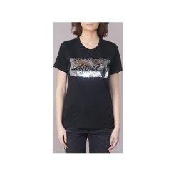 T-shirty z krótkim rękawem Diesel  T SILY I. Czarne t-shirty damskie Diesel, s. Za 207,20 zł.