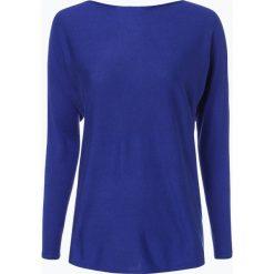 Swetry klasyczne damskie: (THE MERCER) N.Y. – Sweter damski z dodatkiem jedwabiu i kaszmiru, niebieski