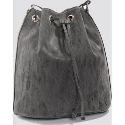 Torebki worki: NA-KD Accessories Torebka typu worek – Black,Grey