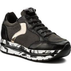 Sneakersy VOILE BLANCHE - Margot Star 0012012388.03.9121 Nero/Platino. Czarne sneakersy damskie Voile Blanche, z materiału. W wyprzedaży za 489,00 zł.