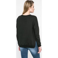 Answear - Bluza. Czarne bluzy z nadrukiem damskie ANSWEAR, m, z bawełny, bez kaptura. W wyprzedaży za 39,90 zł.