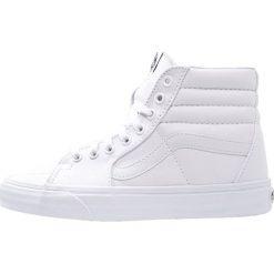 Vans SK8 Tenisówki i Trampki wysokie true white. Białe tenisówki damskie Vans, z materiału. W wyprzedaży za 207,20 zł.