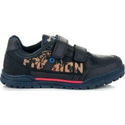 BUTY DLA CHŁOPCA NA RZEPY. Niebieskie buty sportowe chłopięce marki American CLUB, na rzepy. Za 79,90 zł.