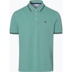 Bugatti - Męska koszulka polo, zielony. Zielone koszulki polo Bugatti, m, z haftami, z bawełny. Za 179,95 zł.