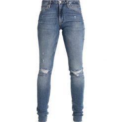 Calvin Klein Jeans SCULPTED SKINNY Jeans Skinny Fit salt & pepper. Szare jeansy damskie Calvin Klein Jeans, z bawełny. W wyprzedaży za 389,40 zł.
