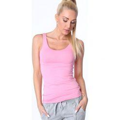 Koszulka na ramiączka różowa MP14881. Czerwone bluzki damskie Fasardi, s. Za 29,00 zł.
