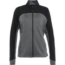 Adidas Golf WOMENS LAYER Bluzka z długim rękawem black. Czarne bluzki sportowe damskie adidas Golf, s, z elastanu, z długim rękawem. Za 419,00 zł.