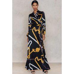 Sukienki: Stine Goya Sukienka Astrid – Black,Multicolor
