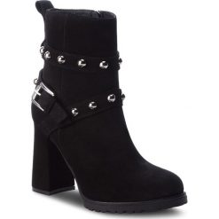 Botki EVA MINGE - Viladecans 4Z 18SF1372609EF 801. Czarne buty zimowe damskie Eva Minge, ze skóry. Za 559,00 zł.