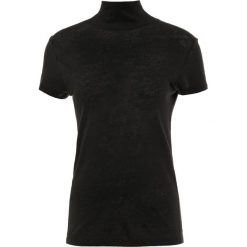 Iro WAKE Tshirt z nadrukiem black. Czarne t-shirty damskie Iro, l, z nadrukiem, ze lnu. Za 439,00 zł.