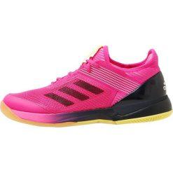 Adidas Performance ADIZERO UBERSONIC 3  Obuwie multicourt pink. Brązowe buty sportowe damskie marki adidas Performance, z gumy. Za 549,00 zł.