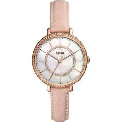 Fossil - Zegarek ES4455. Różowe zegarki damskie marki Fossil, szklane. Za 699,90 zł.