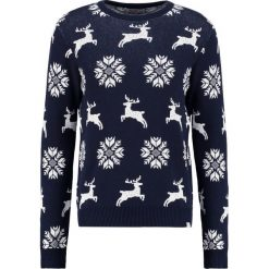 Swetry męskie: Jack & Jones JORSERGIO Sweter navy blazer