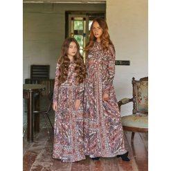 Sukienki dziewczęce: Długa sukienka w motyw paisley