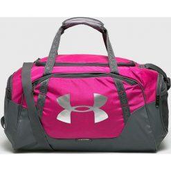 Under Armour - Torba. Różowe torebki klasyczne damskie marki Under Armour, w paski, z materiału. Za 169,90 zł.