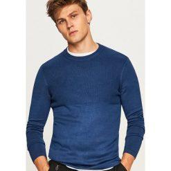 Sweter ze ściągaczową górą - Niebieski. Niebieskie swetry klasyczne męskie marki QUECHUA, m, z elastanu. W wyprzedaży za 59,99 zł.
