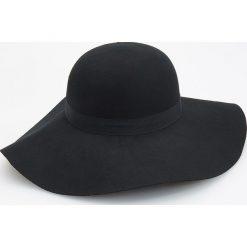 Wełniany kapelusz - Czarny - 2