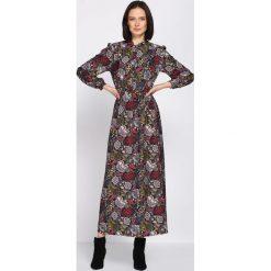 Czarno-Żółta Sukienka No Taboo. Czarne długie sukienki Born2be, l. Za 139,99 zł.